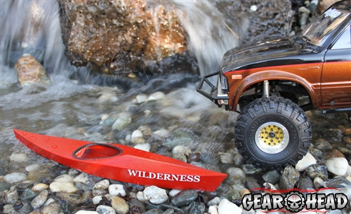 Gear Head Rc 1 10 Scale Quot Wilderness Kayak Quot Kit